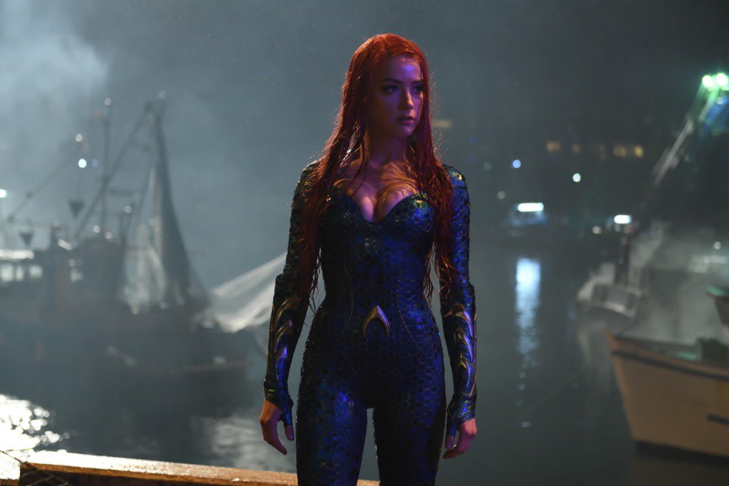 "Amber Heard als Mera in ""Aquaman"""