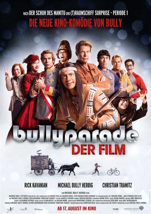 """Das offizielle Poster zu """"Bullyparade - Der Film"""""""