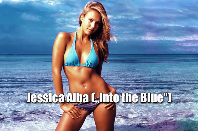 "Jessica Alba  (""Into the Blue"", 2005)"