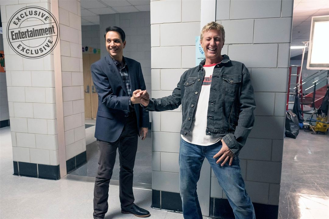 "Ralph Macchio und William Zabka am Set der ""Karate Kid""-Fortsetzung ""Cobra Kai"""