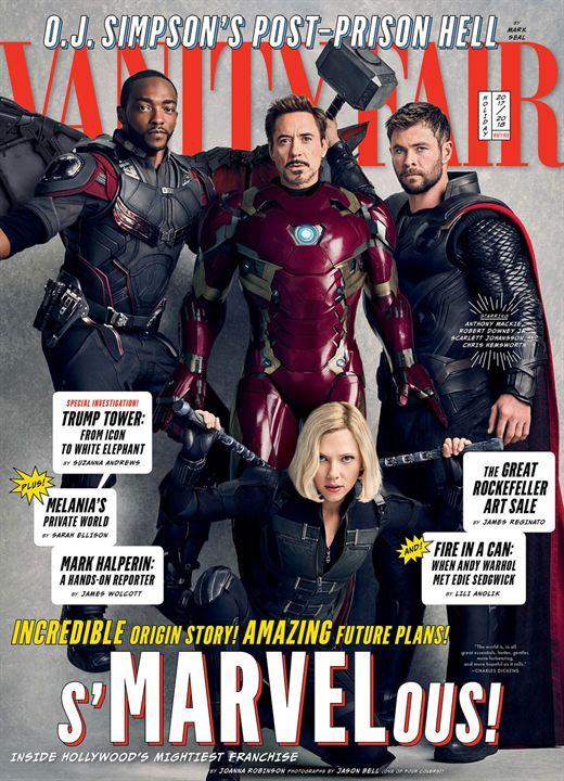 "Vanity-Fair-Cover zu ""Avengers 3"" und ""Avengers 4"""