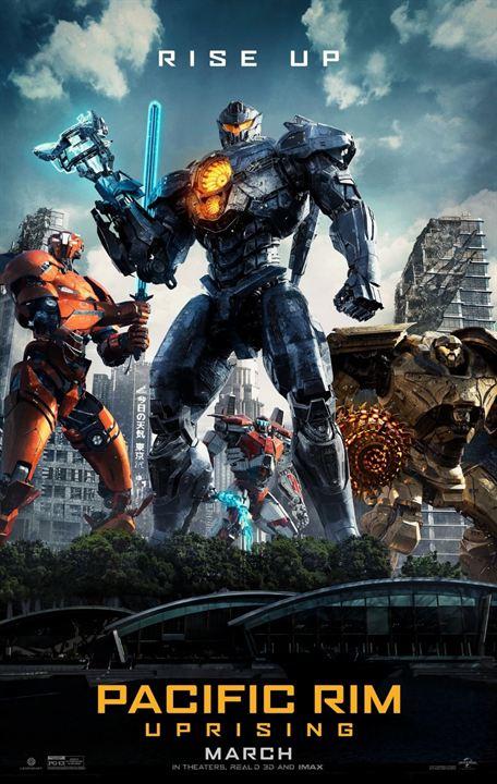 """Neues Poster zu """"Pacific Rim 2: Uprising"""""""