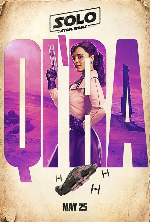Emilia Clarke ist Qi'Ra
