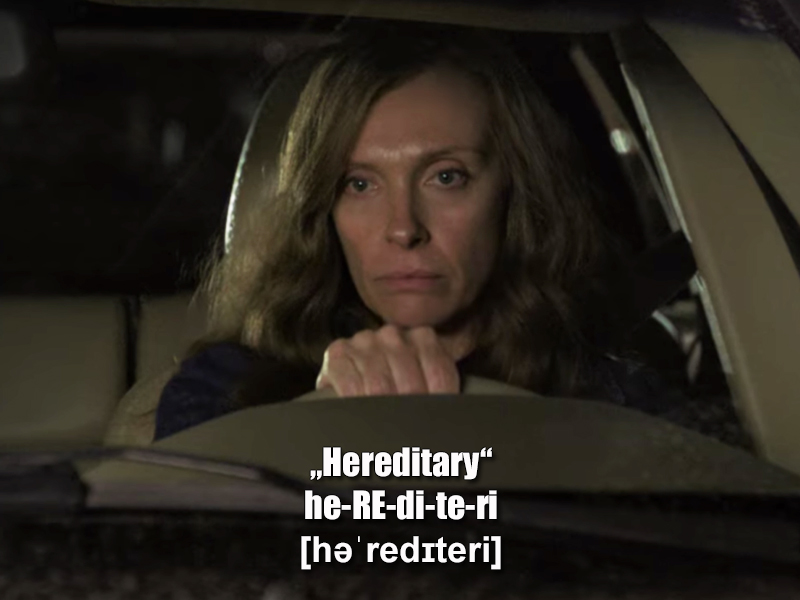 """Hereditary - Das Vermächtnis"""