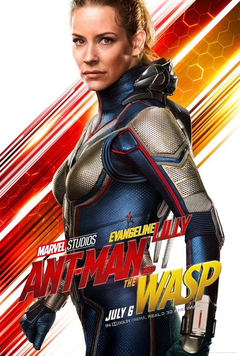 Evangeline Lilly als Hope van Dyne / The Wasp