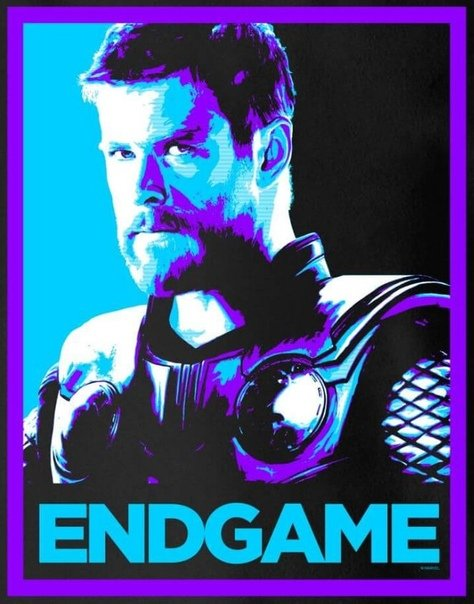 Avengers 4 Coole Neue Poster Bringen Farbe Ins Endgame Thor
