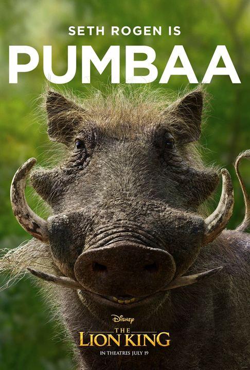 Warzenschwein Pumbaa