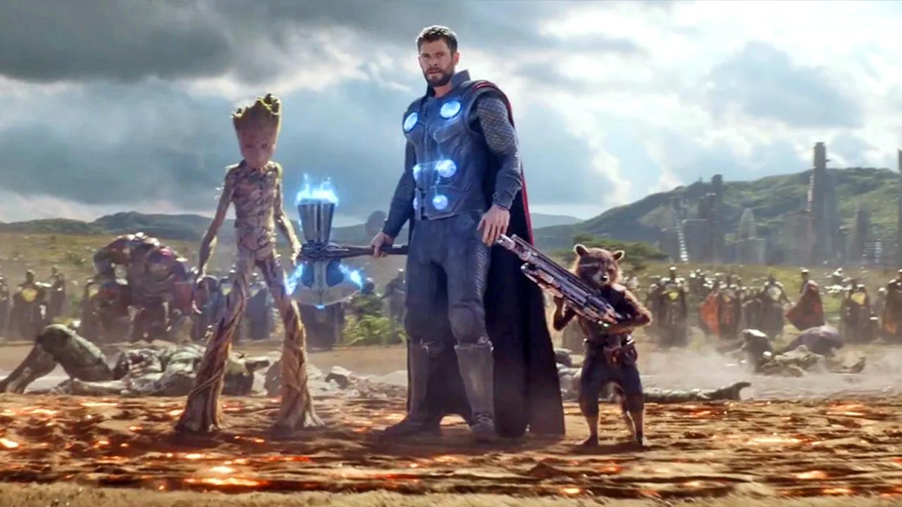 Marvel Avengers - cover