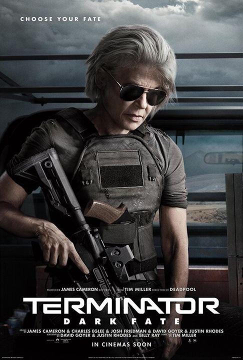 "Linda Hamilton in ""Terminator: Dark Fate"""