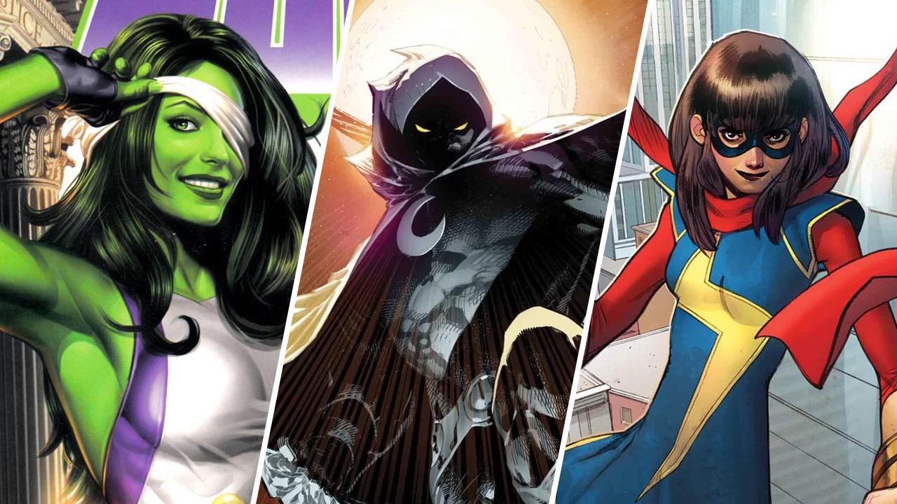Die zukünftigen Avengers? She-Hulk und Moon Knight werden auch Teil der MCU-Filme