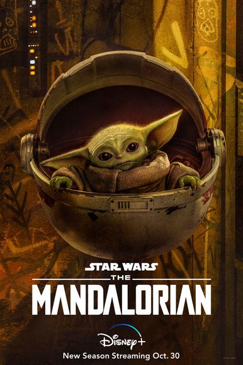 "Baby Yoda in der 2. Staffel ""The Mandalorian"""