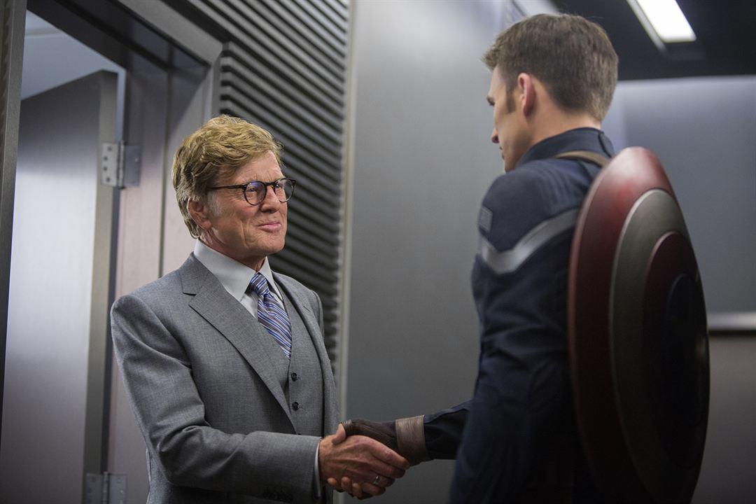 Captain America 2: The Return Of The First Avenger : Bild Chris Evans, Robert Redford