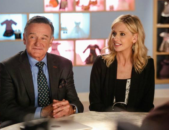 Bild Robin Williams, Sarah Michelle Gellar