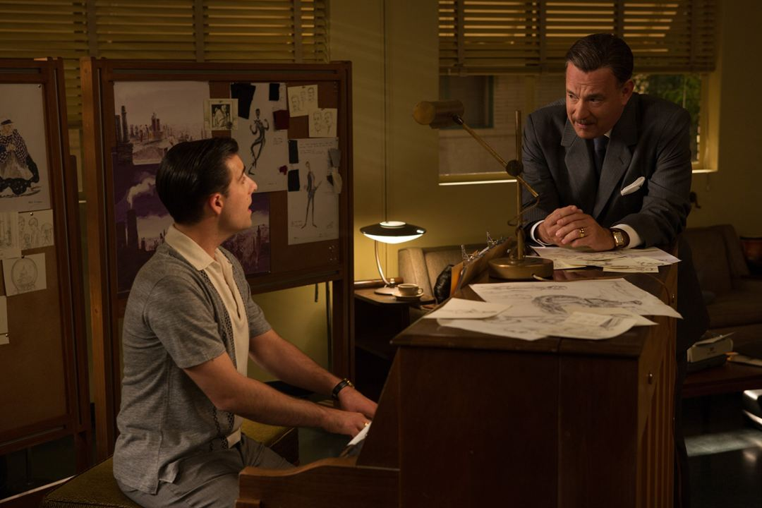 Saving Mr. Banks : Bild Jason Schwartzman, Tom Hanks