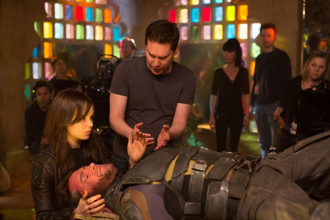 X-Men: Zukunft ist Vergangenheit : Bild Bryan Singer, Ellen Page, Hugh Jackman