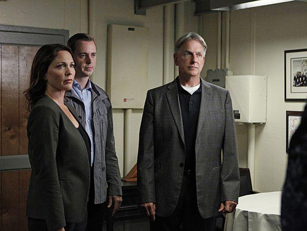 Bild Mark Harmon, Sean Murray