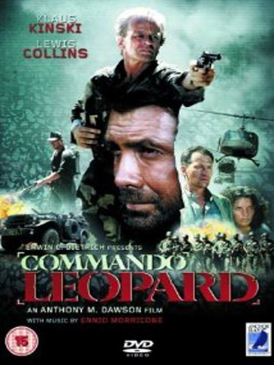 Kommando Leopard : Kinoposter