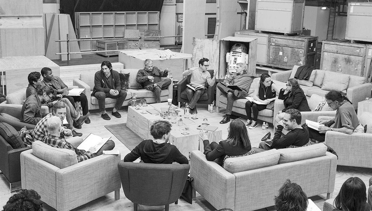 Star Wars 7: Das Erwachen der Macht : Vignette (magazine) Adam Driver, Andy Serkis, Anthony Daniels, Bryan Burk, Carrie Fisher