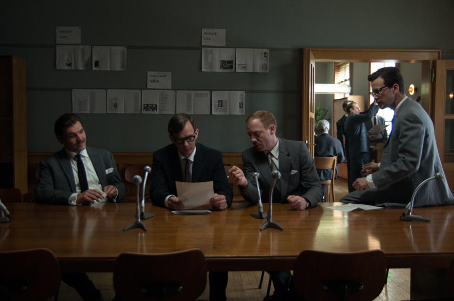 Die Spiegel-Affäre : Bild Franz Dinda, Johann von Bülow, Max Hopp, Sebastian Rudolph