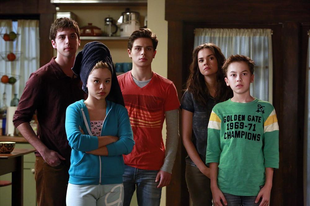 Bild Cierra Ramirez, David Lambert (II), Hayden Byerly, Jake T. Austin, Maia Mitchell