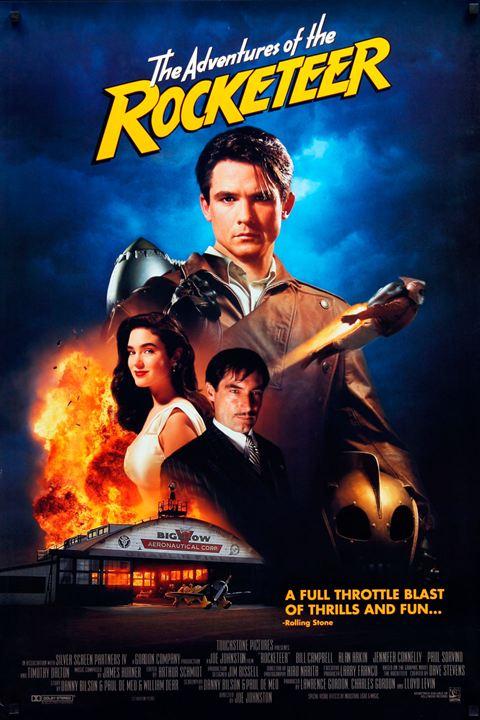 Rocketeer : Kinoposter