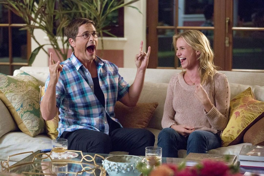 Sex Tape : Bild Cameron Diaz, Rob Lowe