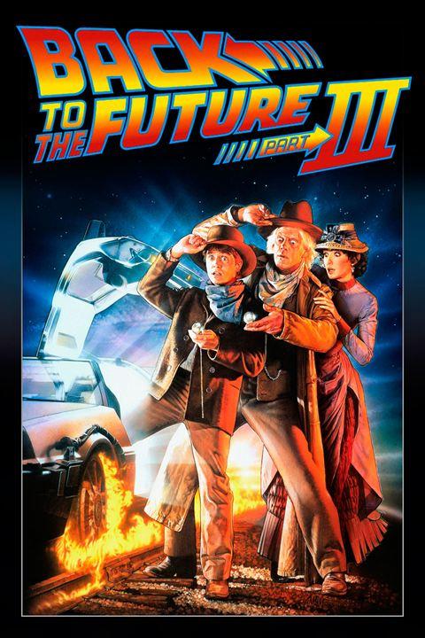 Zurück in die Zukunft III : Kinoposter