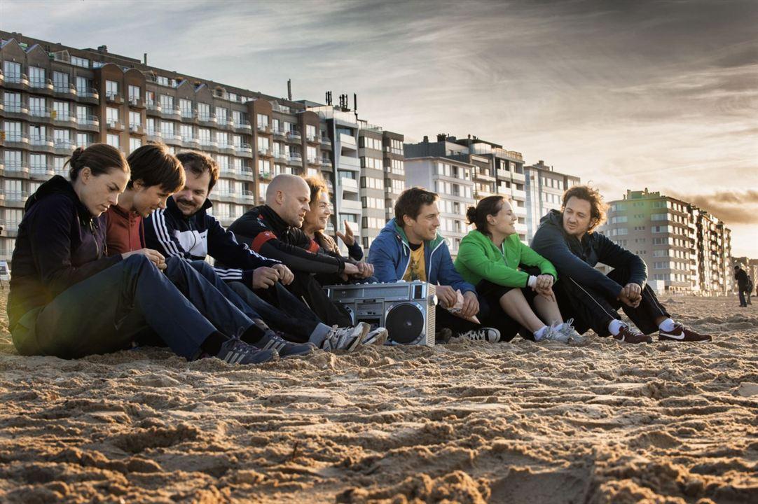 Hin und weg : Bild Florian David Fitz, Hannelore Elsner, Jan Messutat, Johannes Allmayer, Julia Koschitz