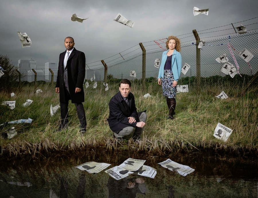Bild Alex Kingston, Noel Clarke, Reece Shearsmith