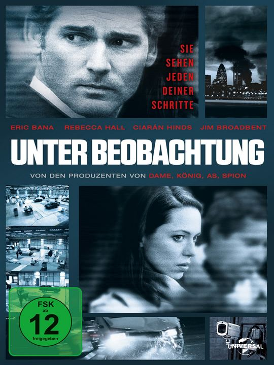 Unter Beobachtung : Kinoposter