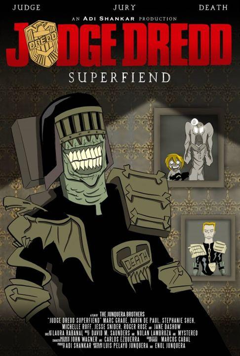 Judge Dredd: Superfiend : Kinoposter