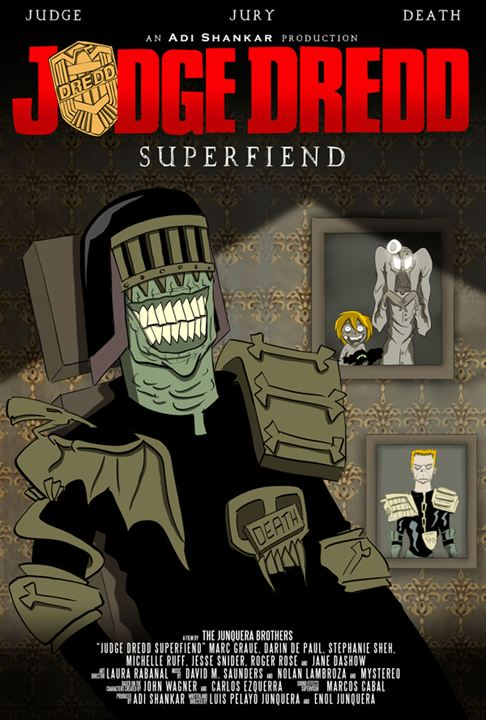 Judge Dredd: Superfiend : Kinoposter