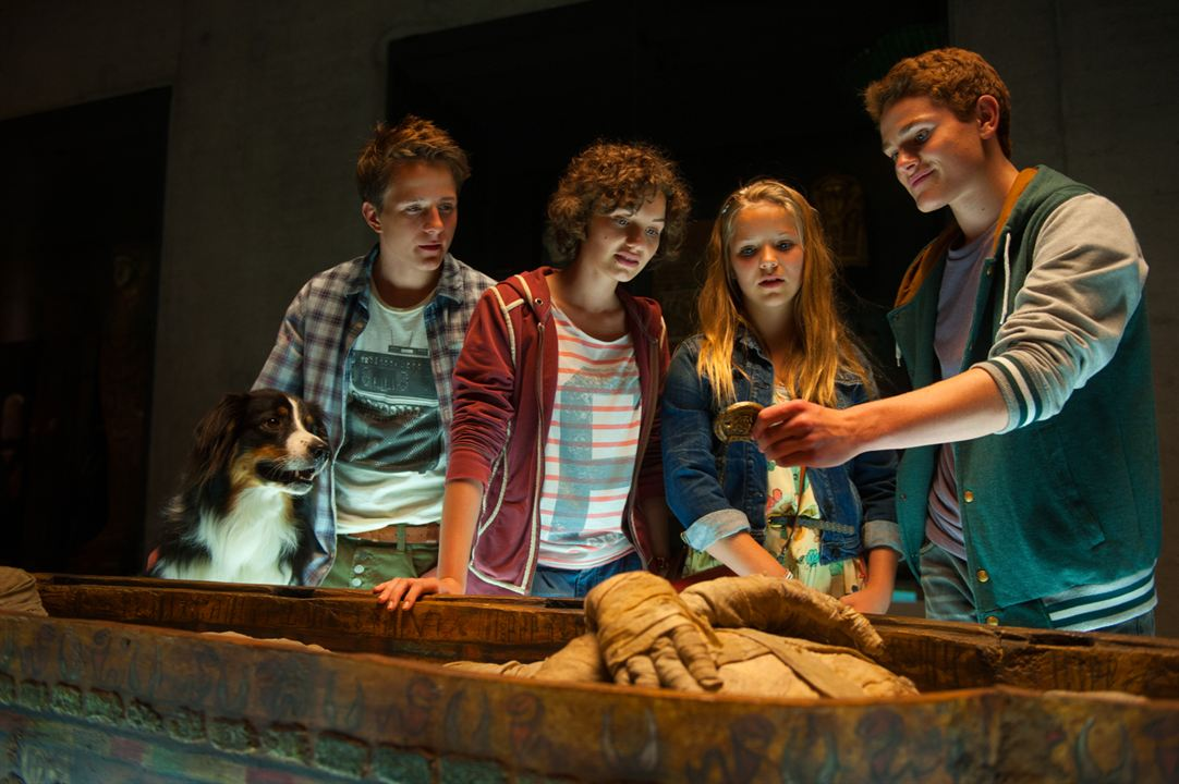 Fünf Freunde 4 : Bild Justus Schlingensiepen, Neele-Marie Nickel, Quirin Oettl, Valeria Eisenbart