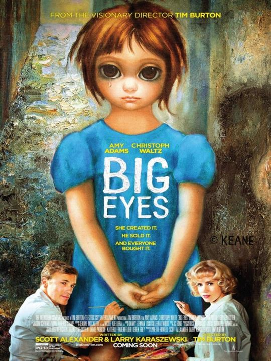Big Eyes : Kinoposter