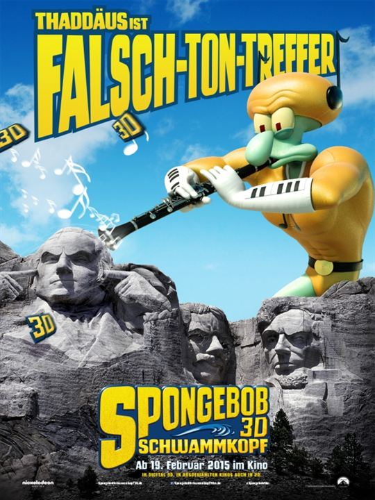 Spongebob Schwammkopf 3d Dvd