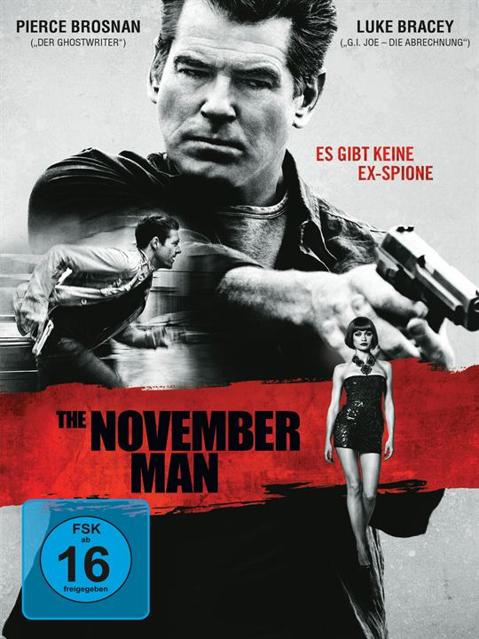 The November Man : Kinoposter