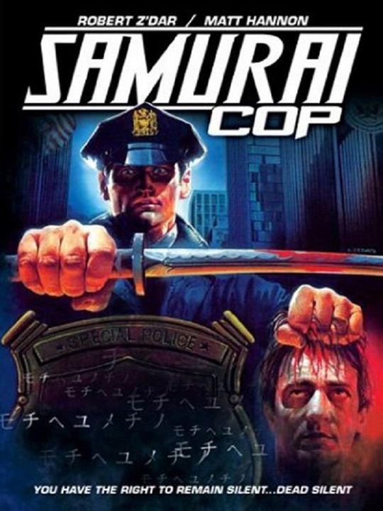 Samuraï Cop : Kinoposter