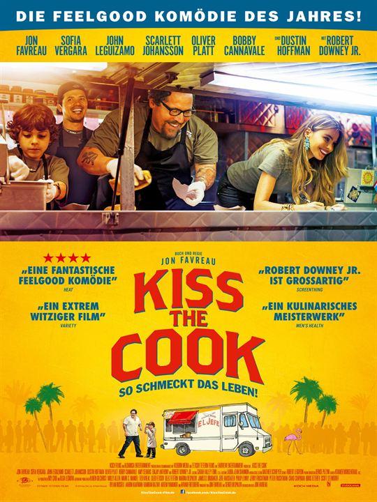 Kiss the Cook - So schmeckt das Leben : Kinoposter