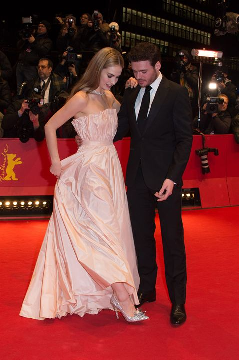 Cinderella : Vignette (magazine) Lily James, Richard Madden
