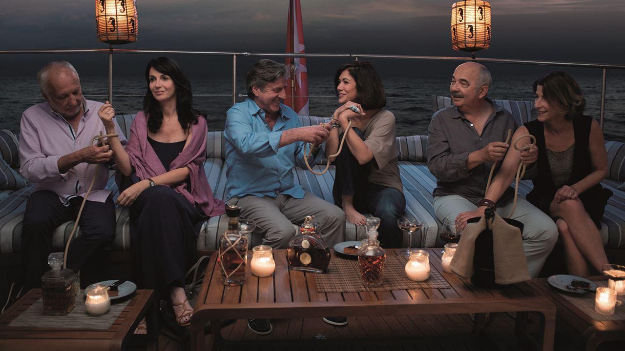 Unter Freunden : Bild Daniel Auteuil, François Berléand, Gérard Jugnot, Isabelle Gélinas, Mélanie Doutey