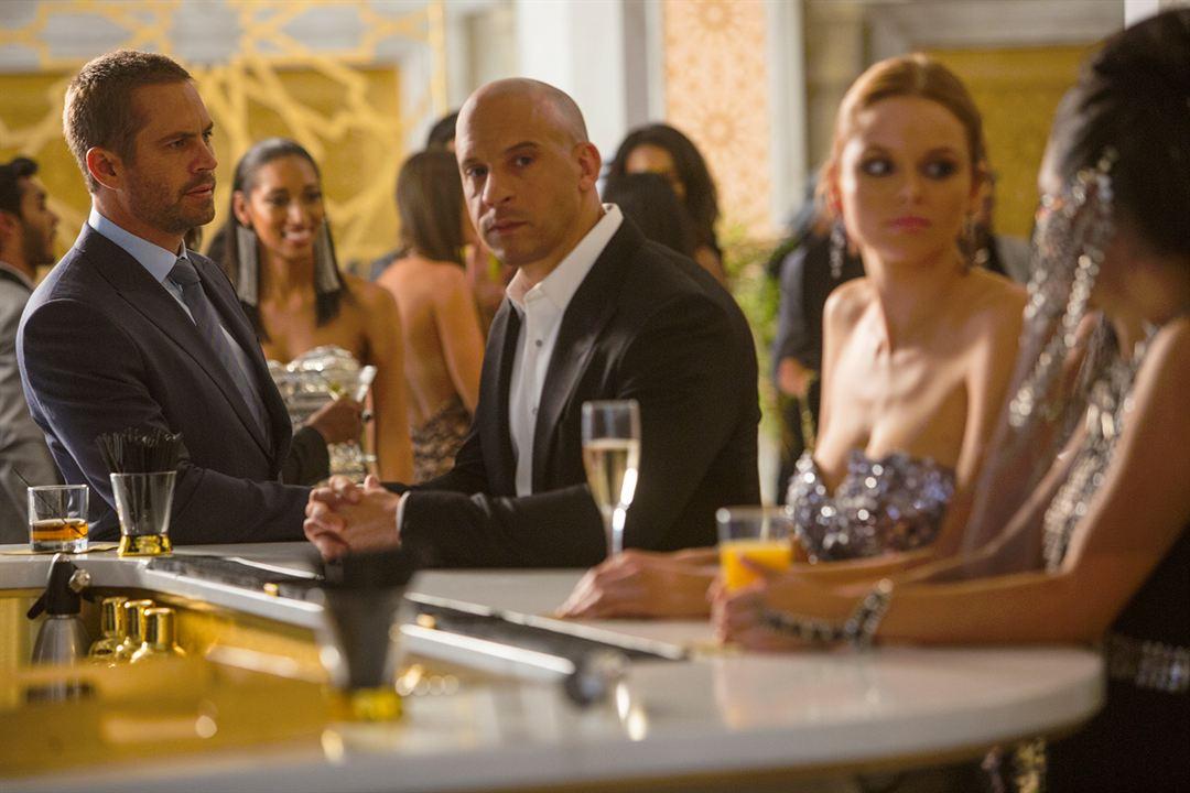 Fast & Furious 7 : Bild Paul Walker, Vin Diesel