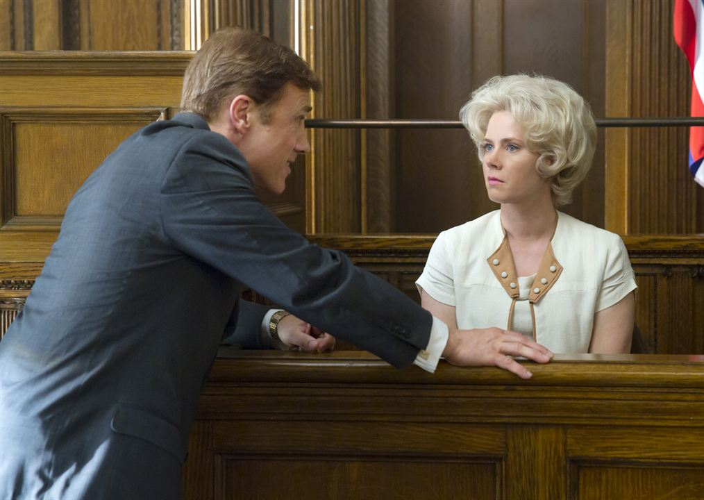 Big Eyes : Bild Amy Adams, Christoph Waltz