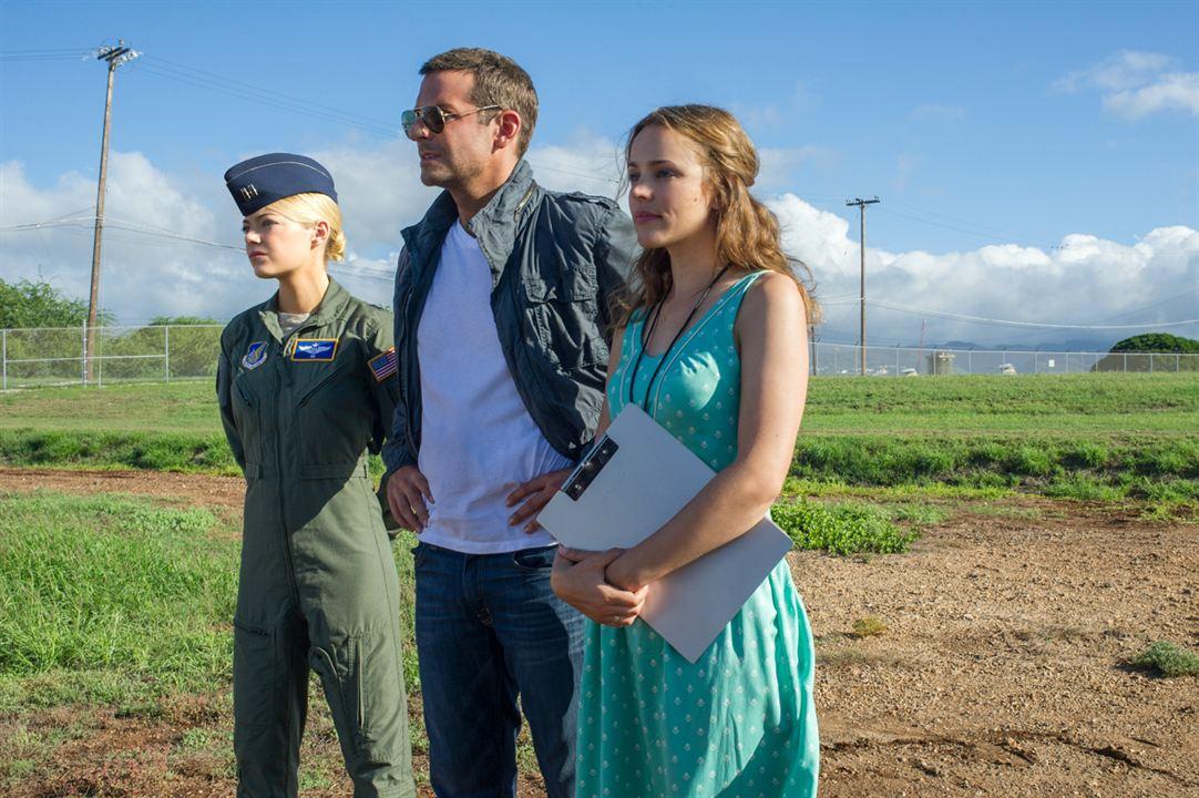 Aloha - Die Chance auf Glück : Bild Bradley Cooper, Emma Stone, Rachel McAdams