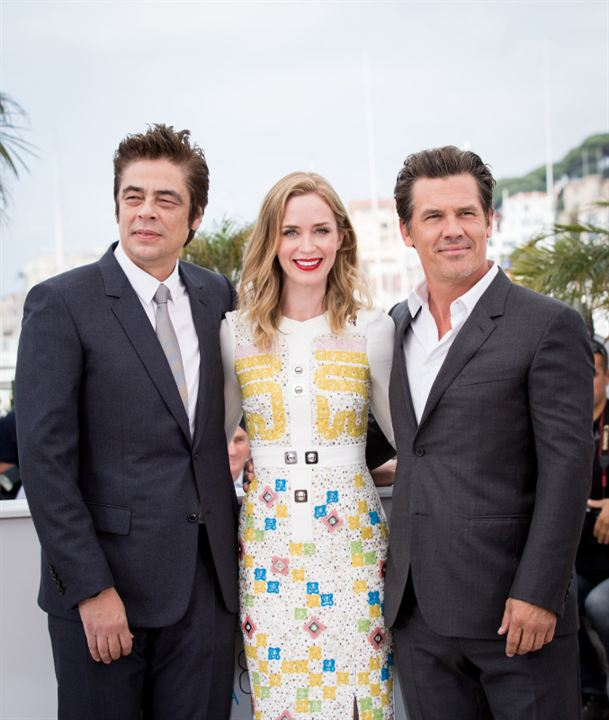 Sicario : Vignette (magazine) Benicio Del Toro, Emily Blunt, Josh Brolin
