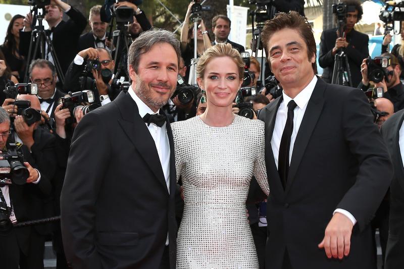 Sicario : Vignette (magazine) Benicio Del Toro, Denis Villeneuve, Emily Blunt