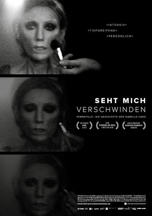 Seht mich verschwinden : Kinoposter