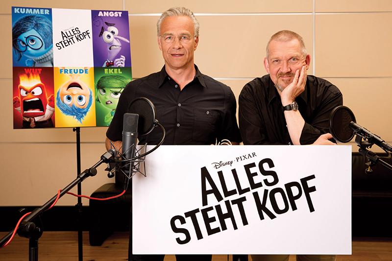 Alles steht Kopf : Vignette (magazine) Dietmar Bär, Klaus J. Behrendt
