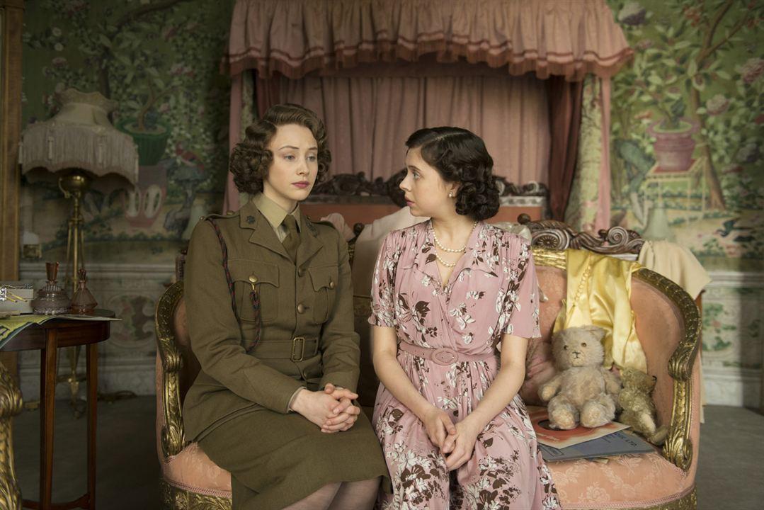 A Royal Night - Ein königliches Vergnügen : Bild Bel Powley, Sarah Gadon