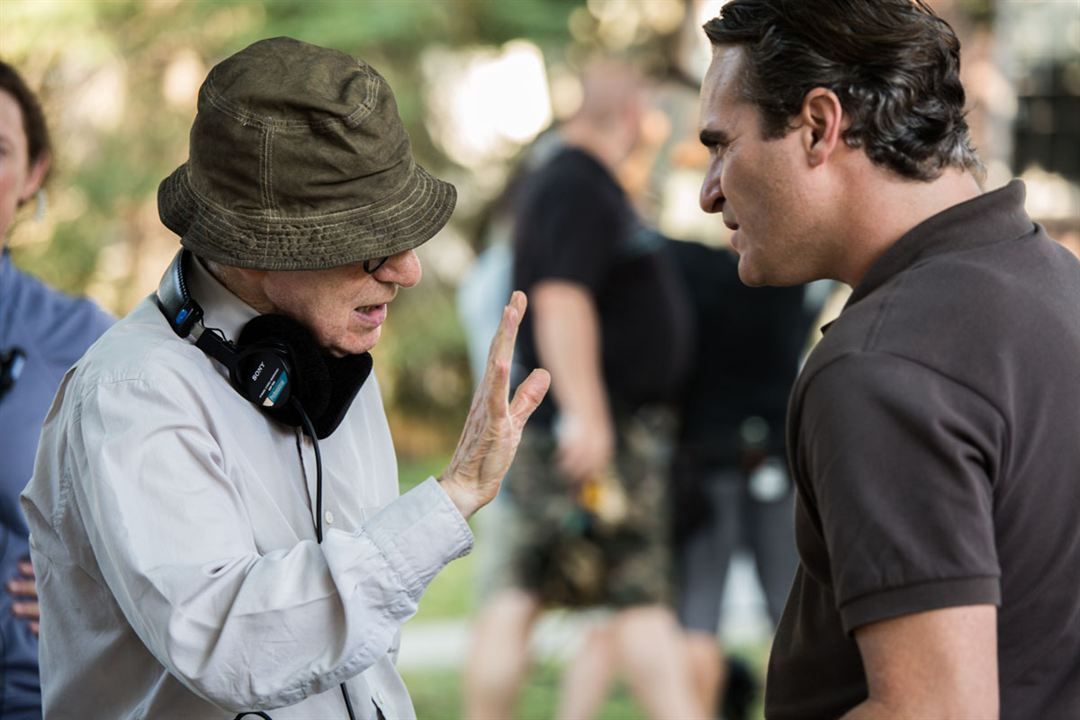 Irrational Man : Bild Joaquin Phoenix, Woody Allen