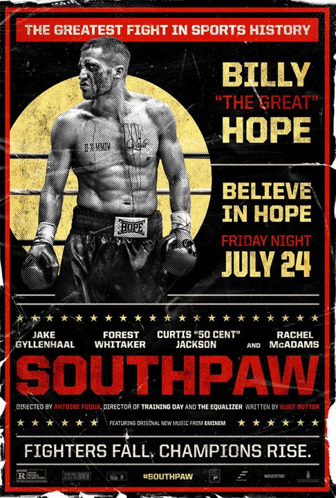 Southpaw : Kinoposter